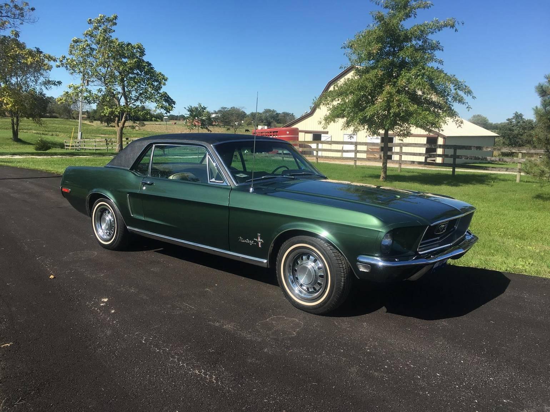 Ford Mustang 1968 v8 289 prix tout compris 1968