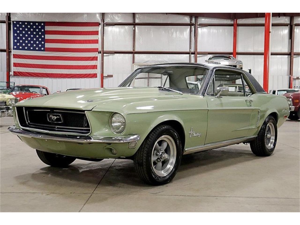 Ford Mustang V8 n289 1968 prix tout compris 1968