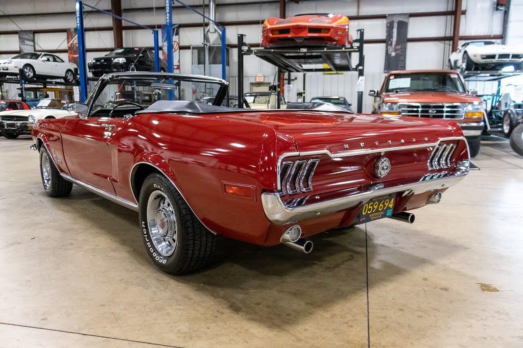 ford mustang Cabriolet v8 289 1968 prix tout compris