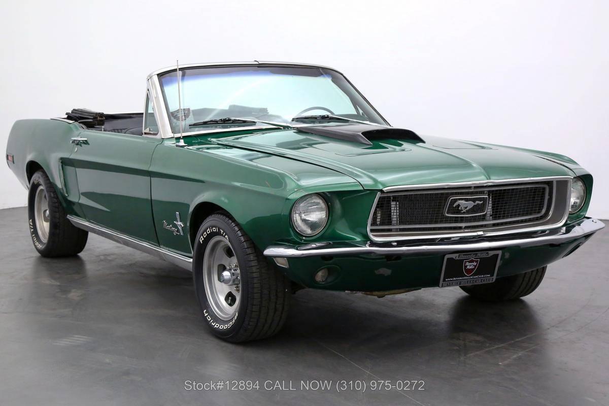 Ford Mustang V8 j code 1968 prix tout compris 1968