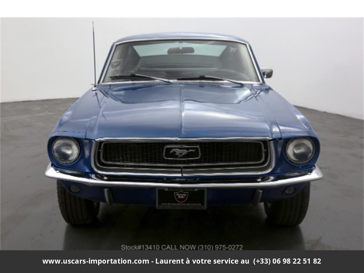 Ford Mustang Fastback v8 289 1968 prix tout compris