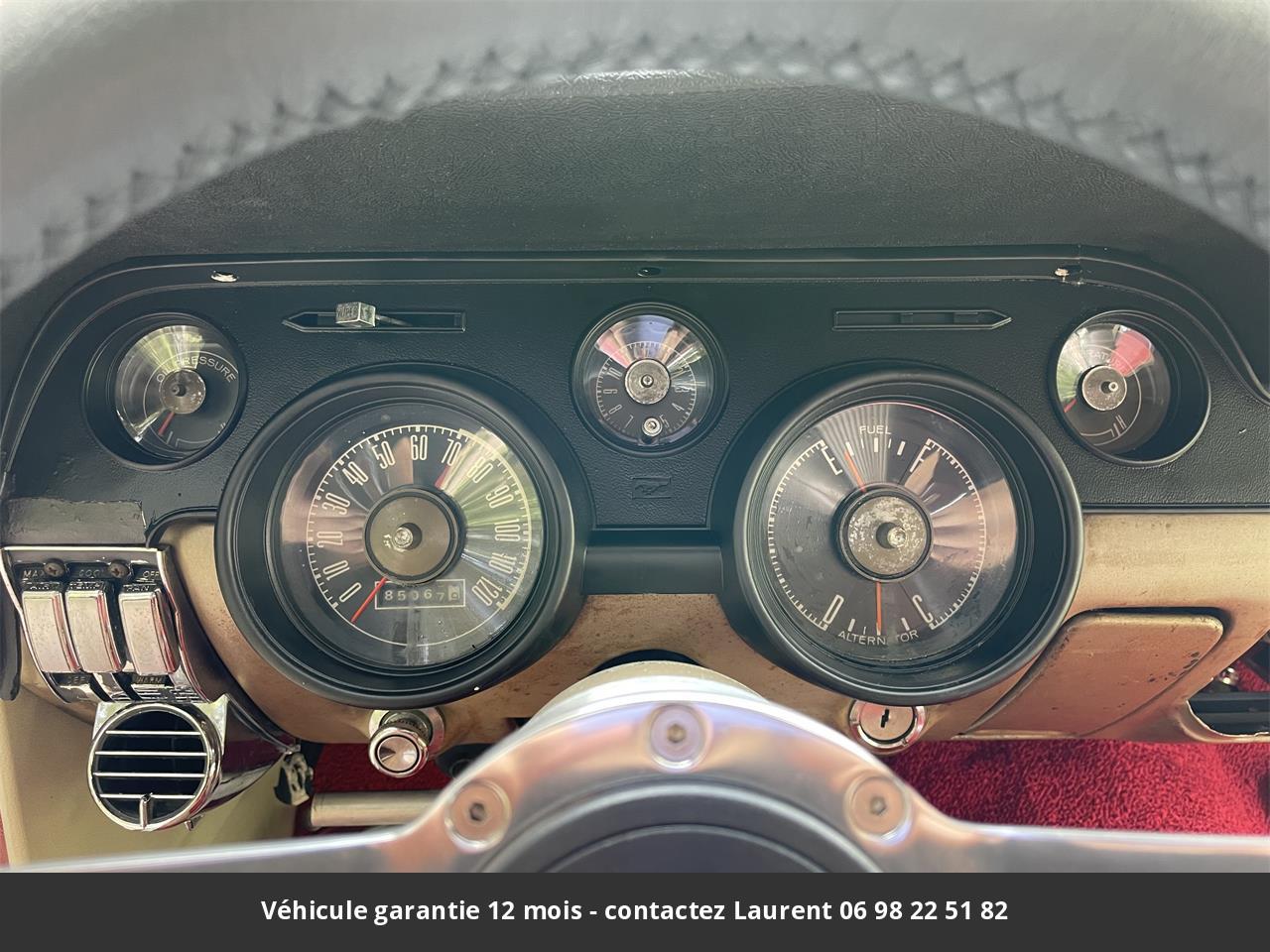 Ford Mustang 1968 prix tout compris