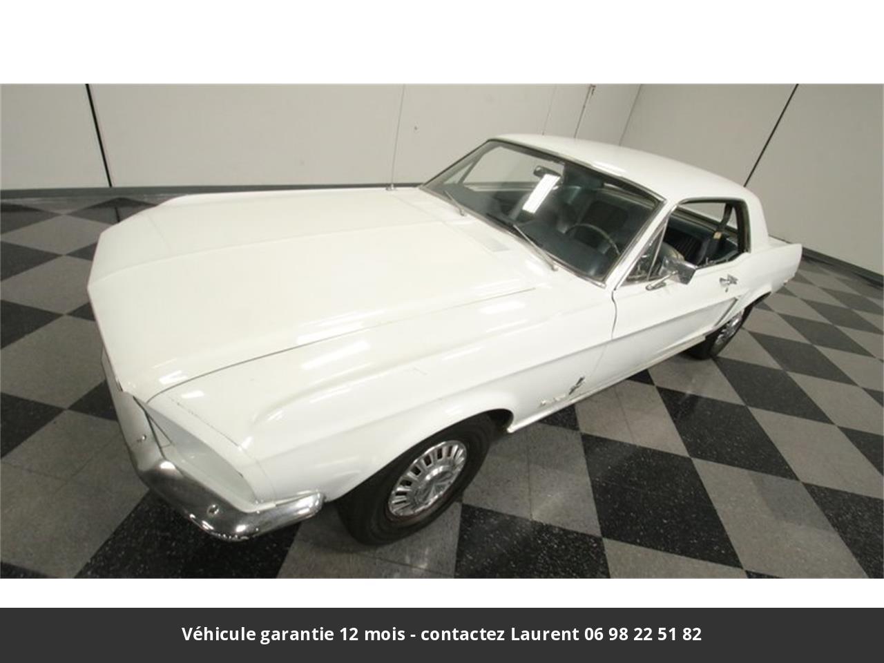 Ford Mustang V8 289 1968 prix tout compris