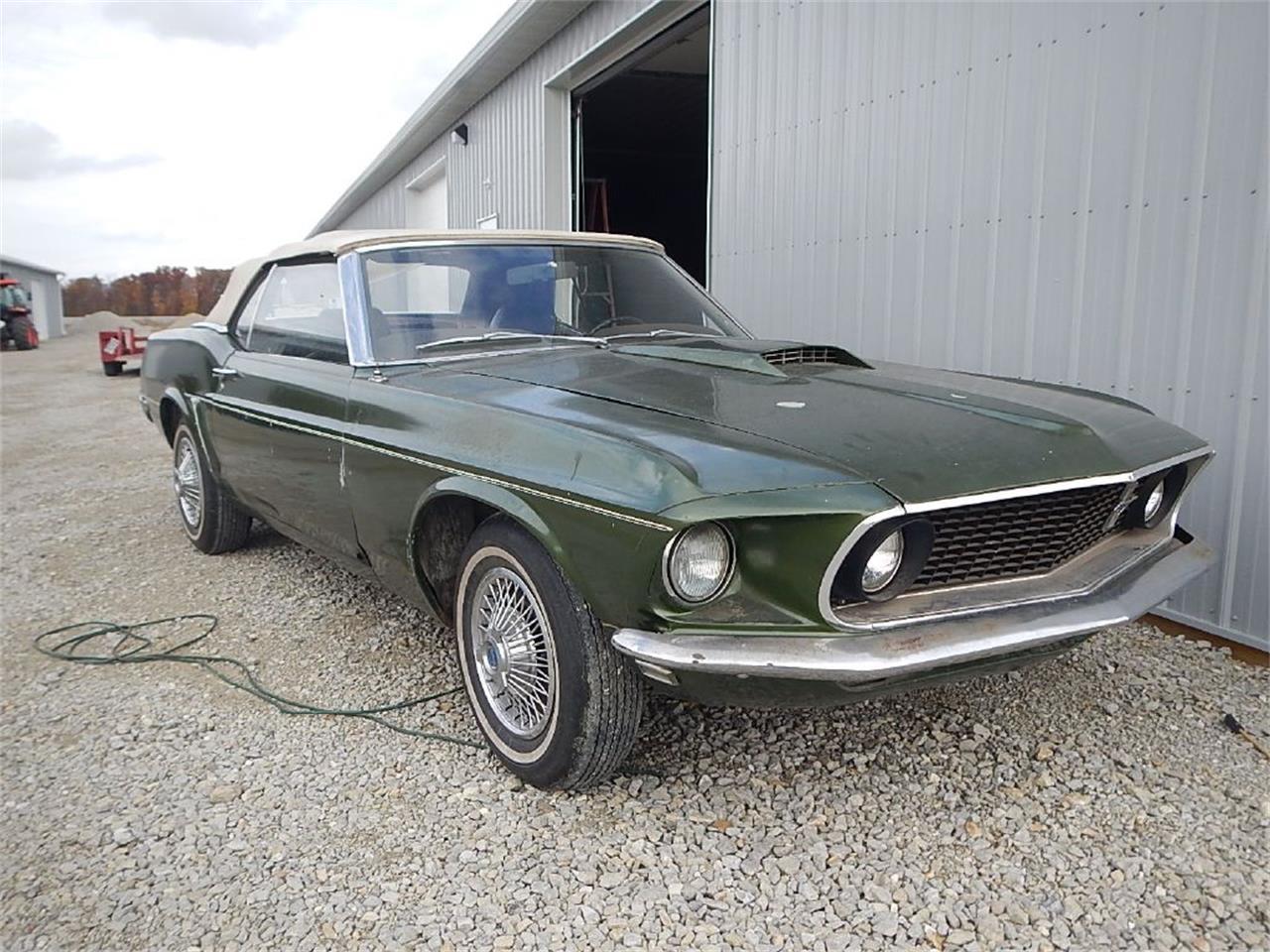 Ford Mustang Cabriolet 1969 prix tout compris 1969