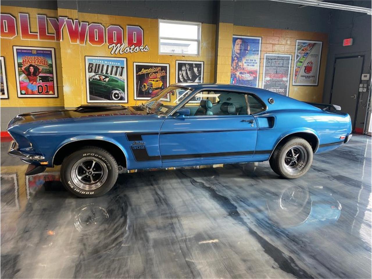 Ford Mustang Fastback v8 302 1969 prix tout compris 1969