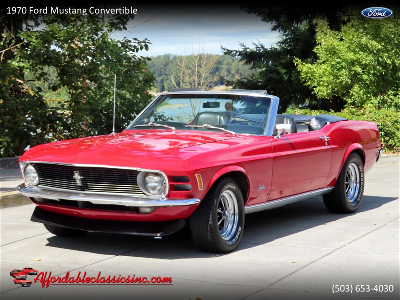 Ford Mustang V8 1970 prix tout compris 1970