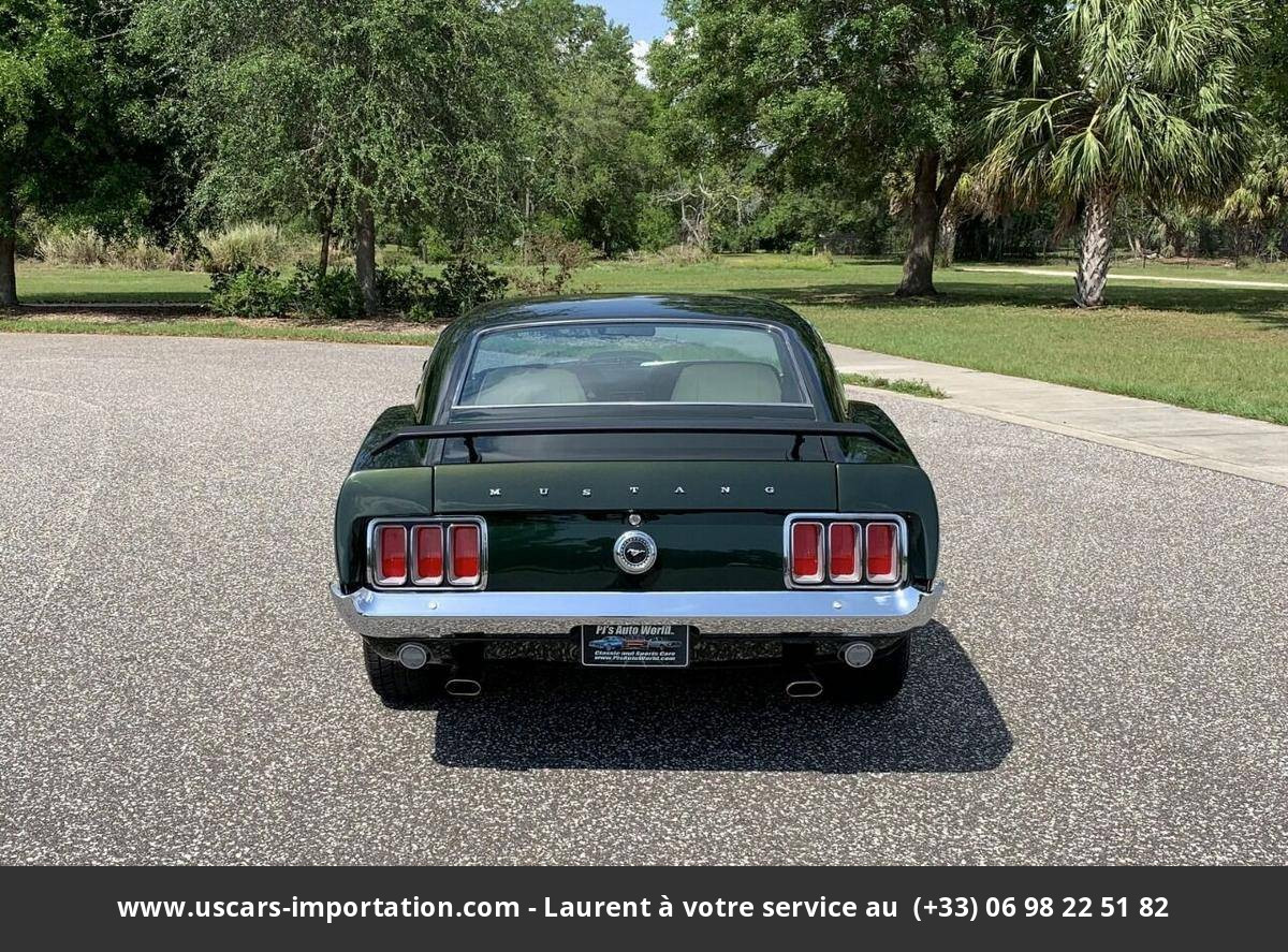 Ford Mustang Fastback 351 ci v8 1979 prix tout compris