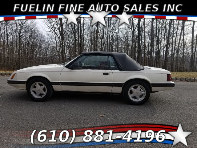Ford Mustang Cabriolets 1983
