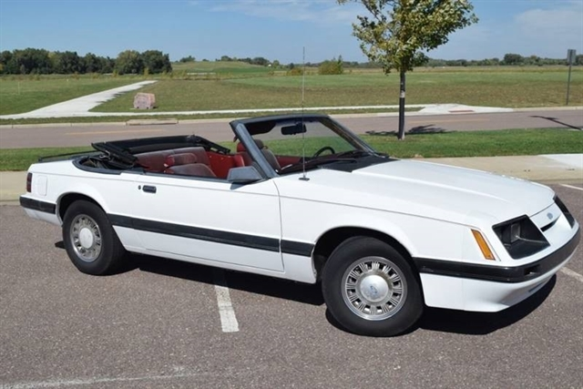 Ford Mustang Lx convertible 1985