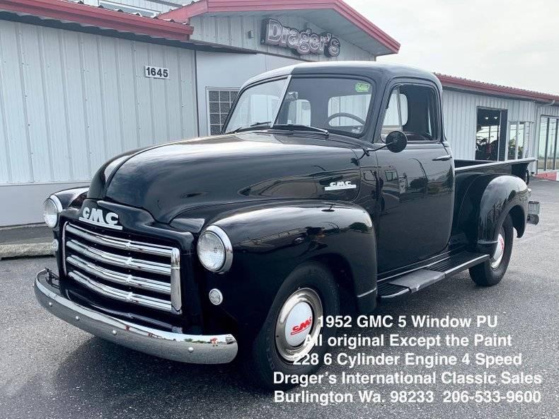 GMC 1 Prix tout compris 1952