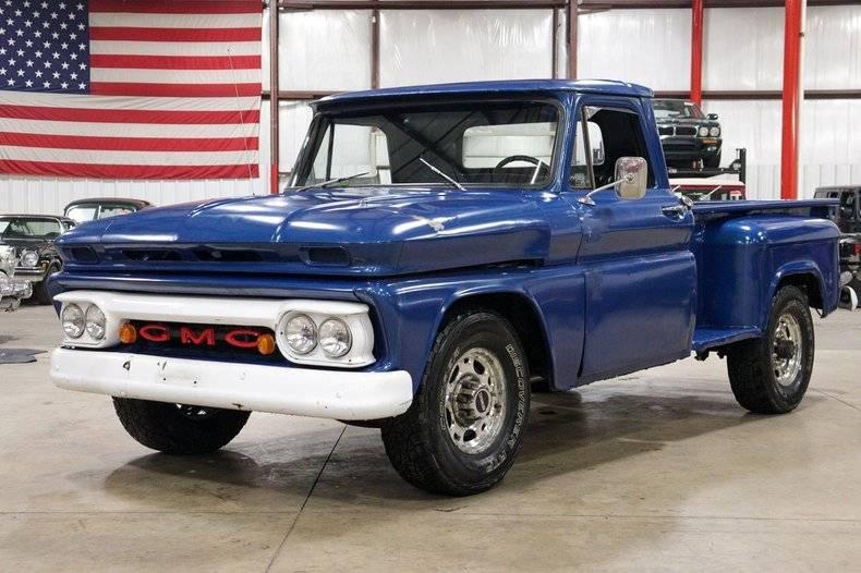 GMC Classic V8 1966 prix tout compris 1966
