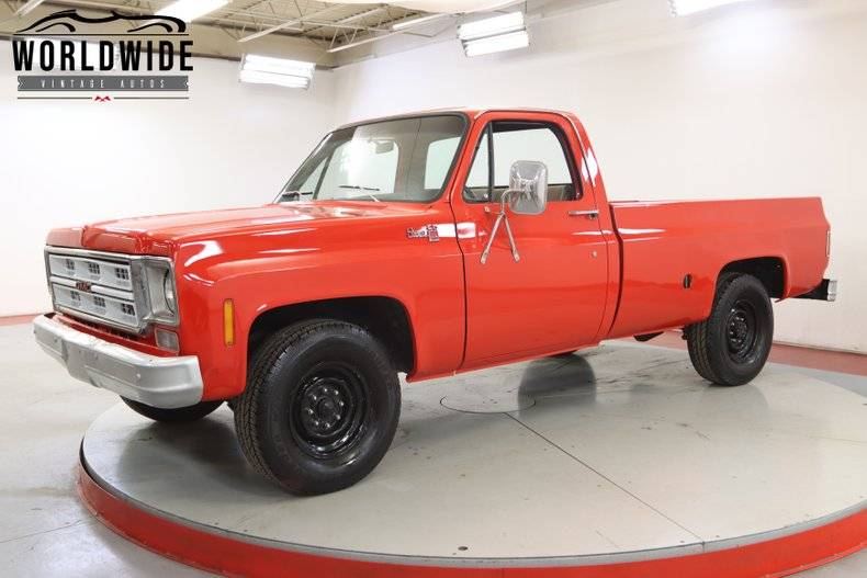 GMC Pickup 350 v8 1975 prix tout compris 1975