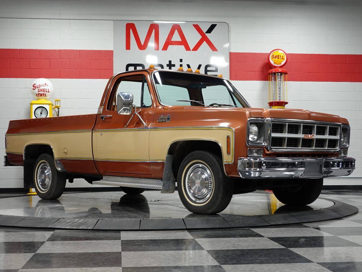 GMC Sierra Wideside 1/2 ton pickup 1977 prix tout compris 1977