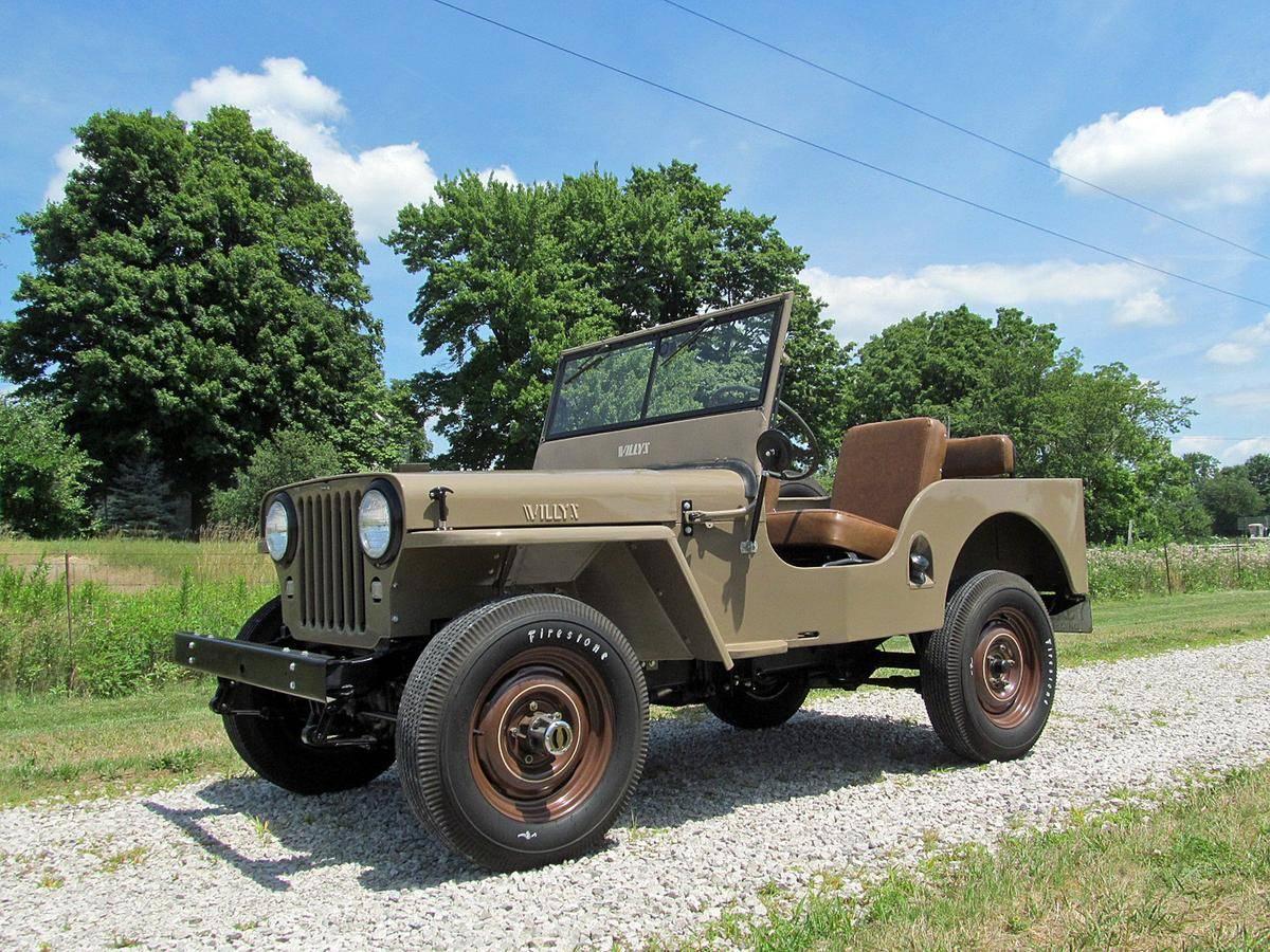 Jeep CJ2 A 4x4 1946 prix tout compris 1946