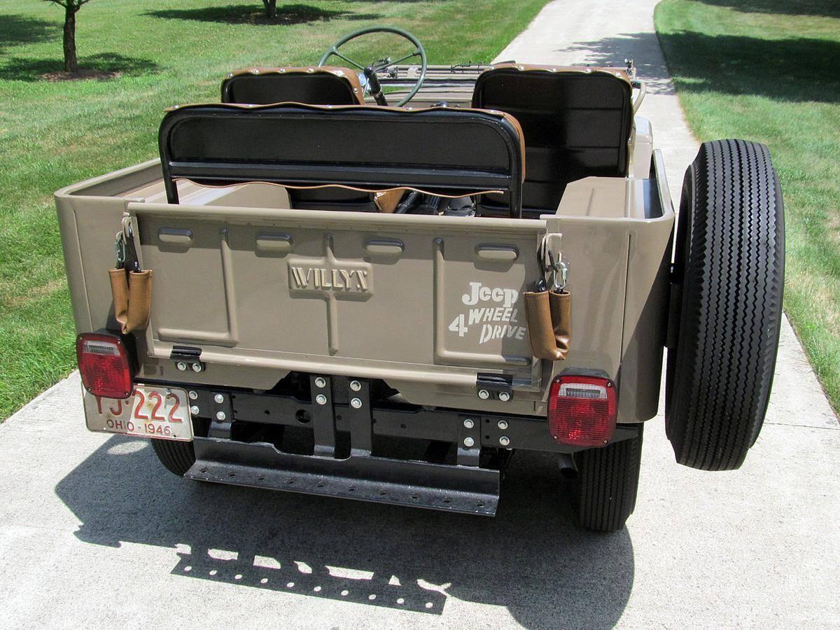 Jeep CJ2 A 4x4 1946 prix tout compris