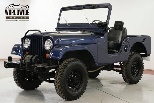 Jeep CJ5 1962 prix tout compris 1962