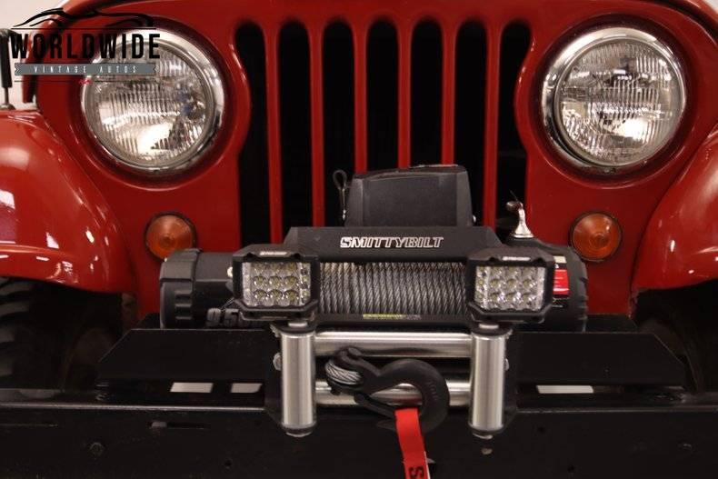 Jeep CJ5 4x4 1965 prix tout compris