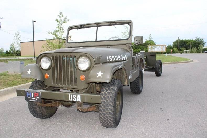 Jeep CJ5 231 v-6 1968 prix tout compris 1968