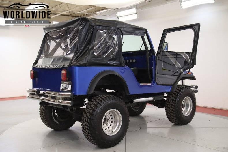 Jeep CJ5 304 v8 1977 prix tout compris