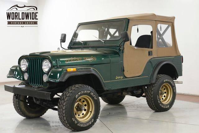 Jeep CJ5 Military 1982 prix tout compris 1982