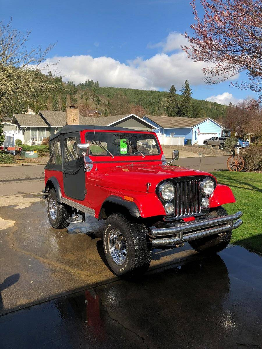 Jeep CJ7 258 cu. in.i6 1979 prix tout compris 1979