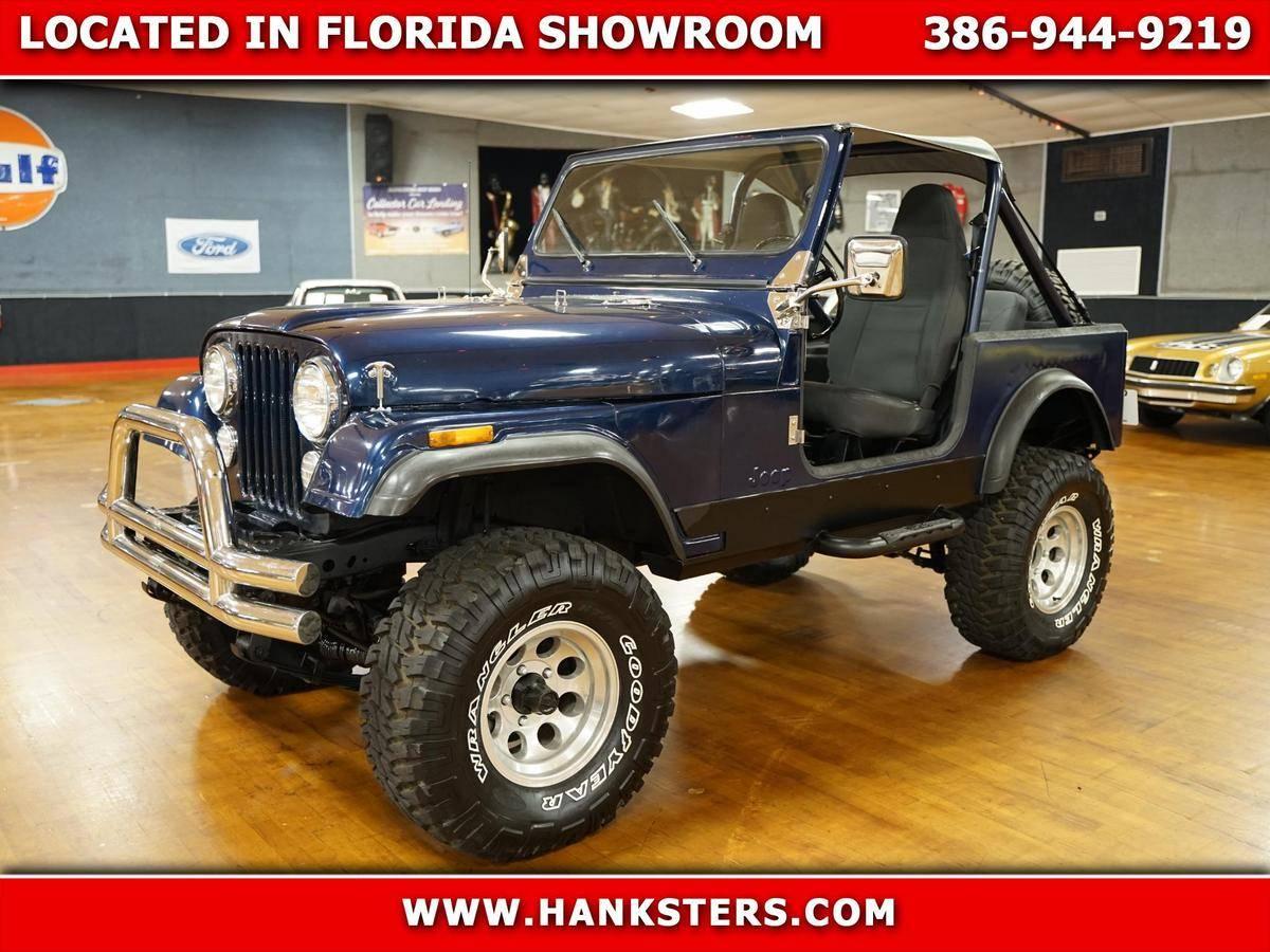Jeep CJ7 1980 v8 350 prix tout compris 1980