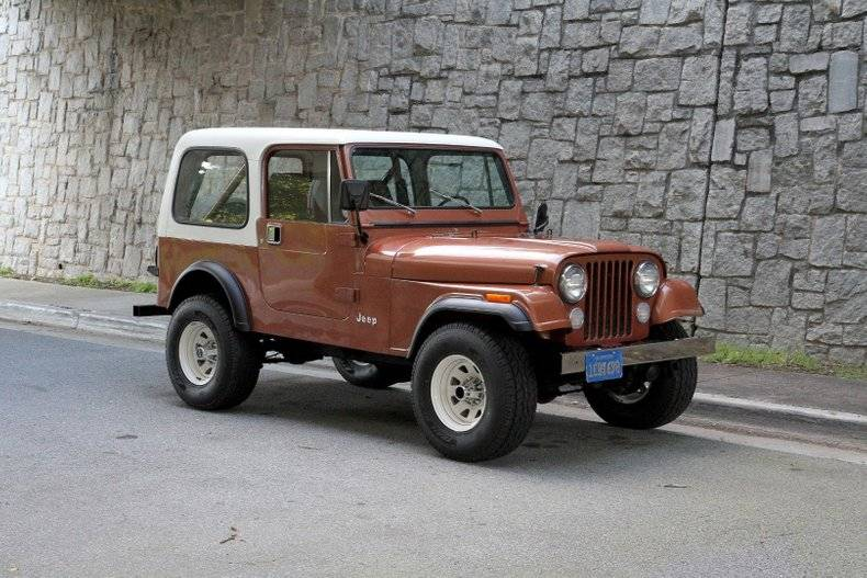 Jeep CJ7 4.2l 258 1981 prix tout compris 1981