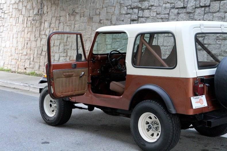 Jeep CJ7 4.2l 258 1981 prix tout compris