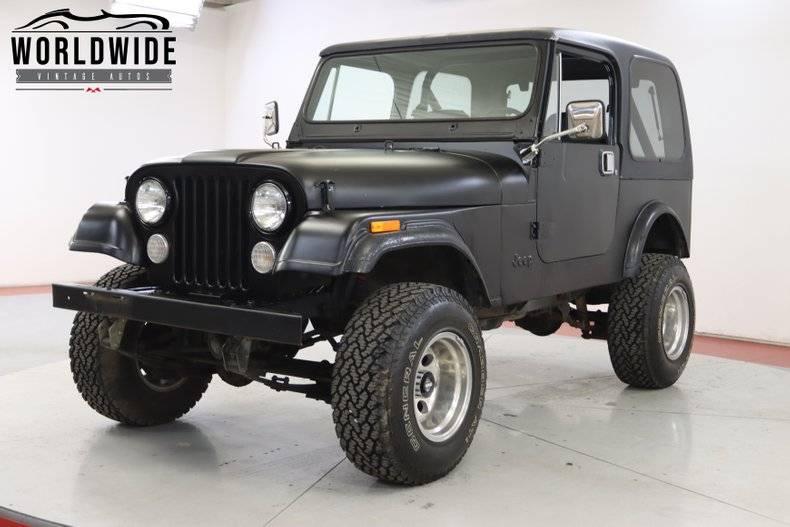 Jeep CJ7 4x4 1983 prix tout compris 1983