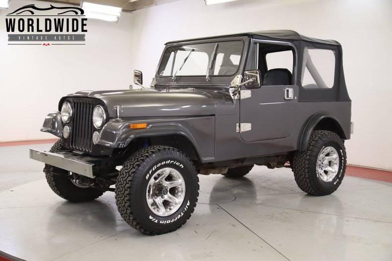 Jeep CJ7 1985 prix tout compris 1985