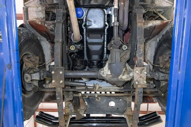 Jeep CJ7 V8 350 1986 prix tout compris