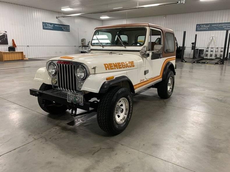 Jeep CJ7 Renagade 1986 prix tout compris