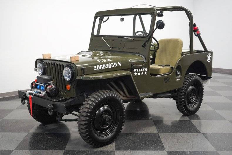 Jeep Willys M38  military prix tout compris 1952