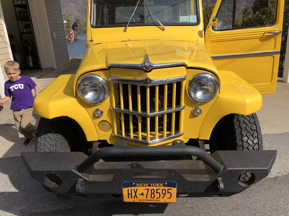 jeep Willys Wagon v8 350 1962 prix tout compris