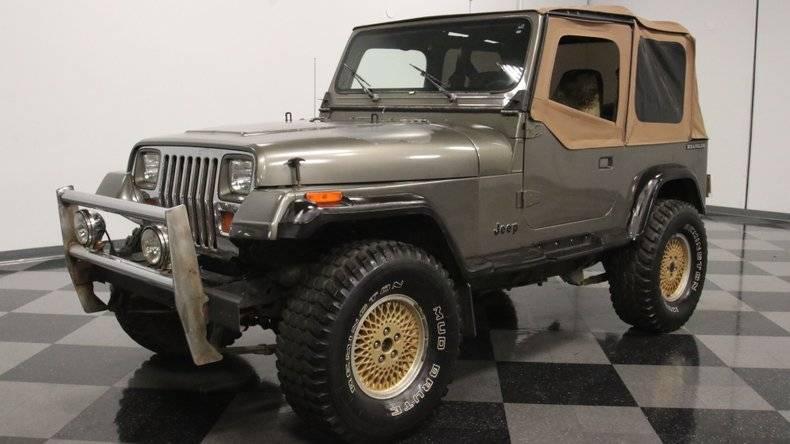 Jeep Wrangler Yj 4x4 4.2 1988 prix tout compris 1988