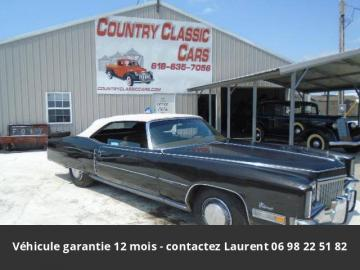 1972 Cadillac Eldorado 500 ci v8 1972 Prix tout compris