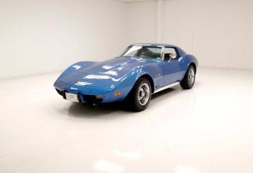 1975 Chevrolet Corvette 350ci V8 L48 165hp 1975 Prix tout compris