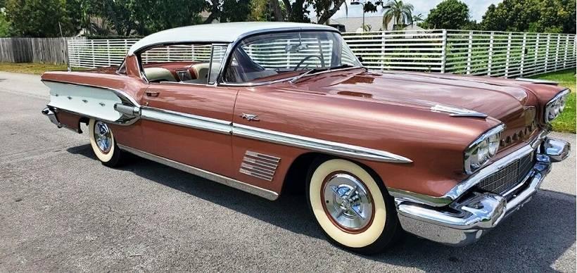 Pontiac Bonneville 1958 prix tout compris 1958