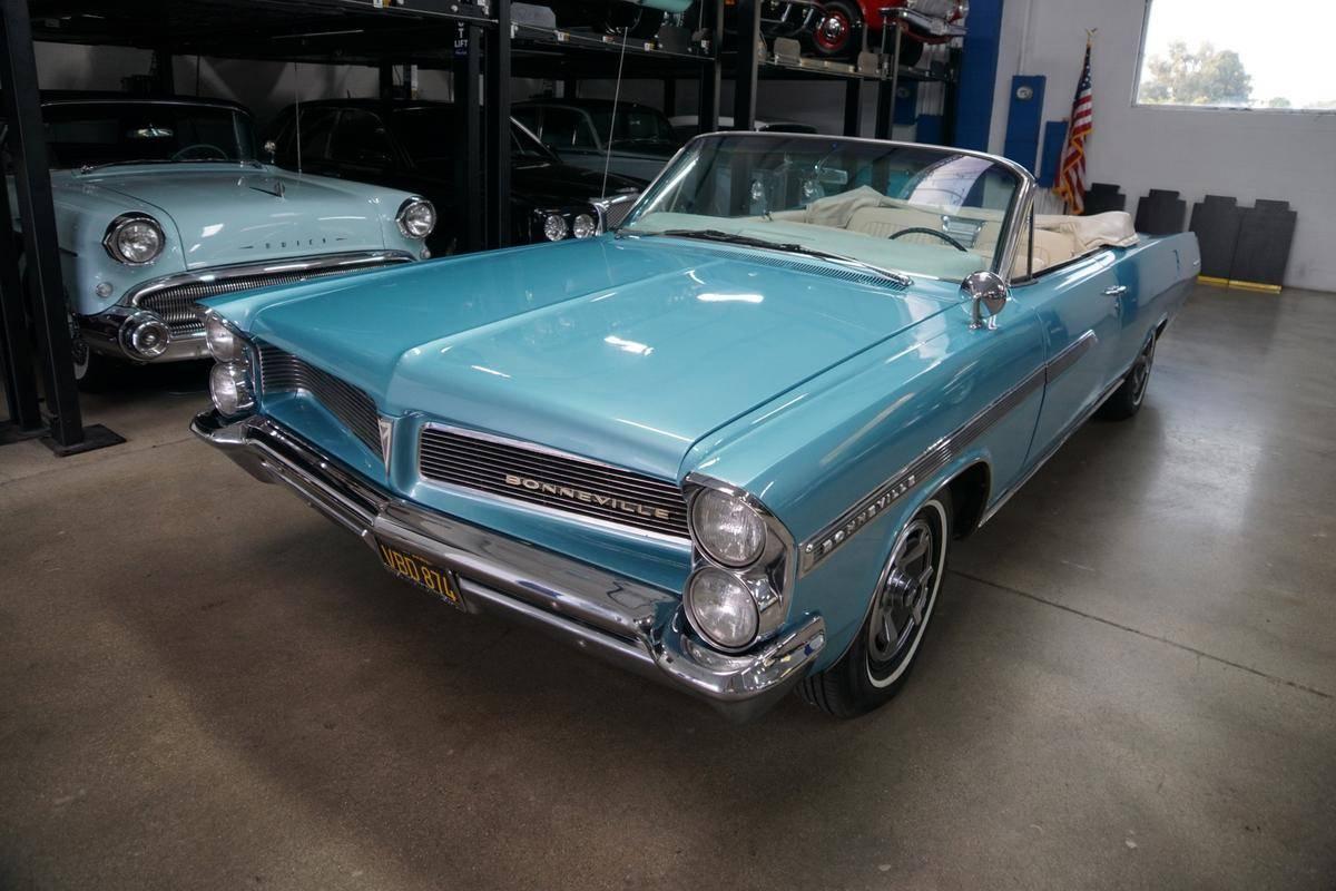 Pontiac Bonneville V8 400 q code dossier dispo prix tout compris 1963