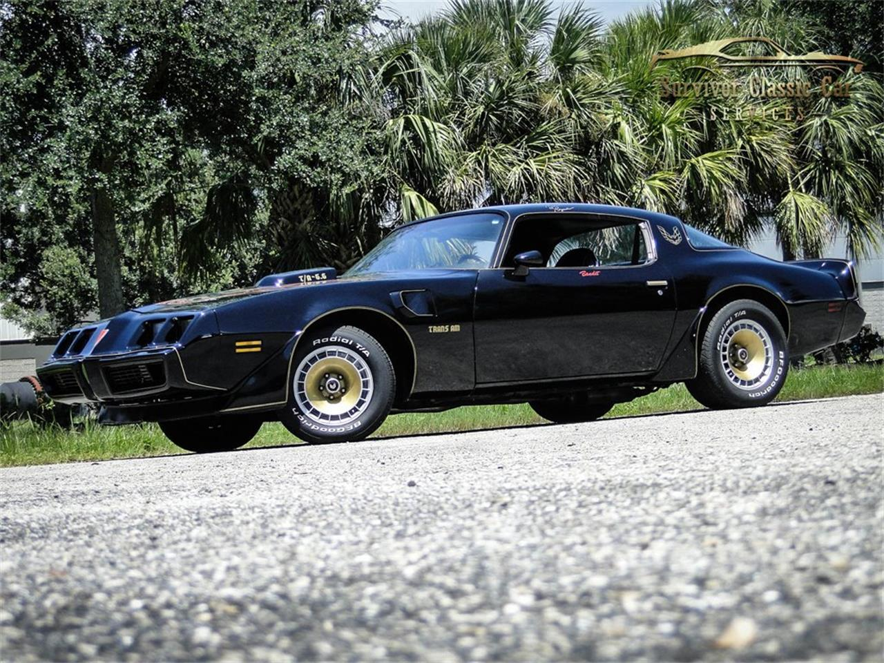 Pontiac Firebird Trans Am V8 turbo 350 1979 prix tout compris 1979