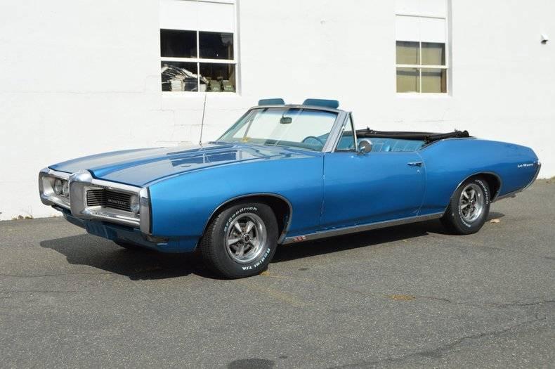 Pontiac LeMans 350 v8 1968 prix tout compris 1968