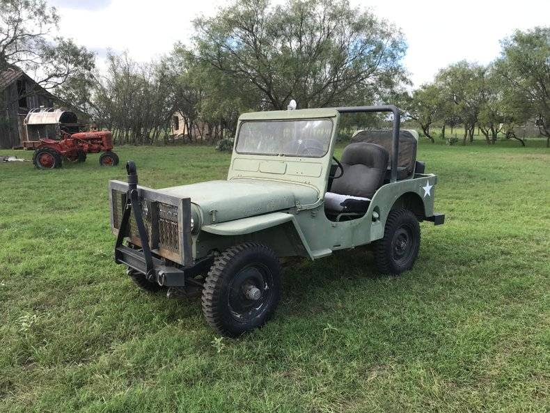 Willys CJ Tres rare jeep running neds tlc navy tags 1951 prix tout compris