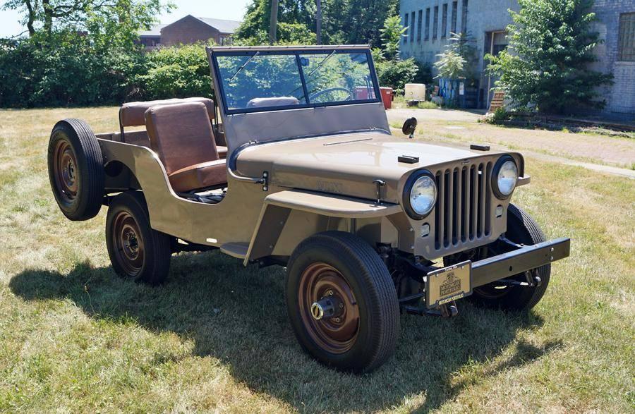 Willys CJ2 1946 prix tout compris 1946