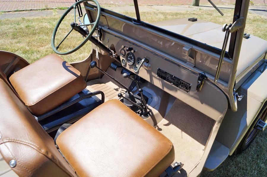 Willys CJ2 1946 prix tout compris